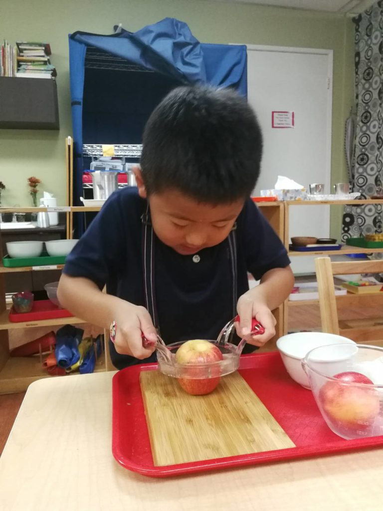 りんご切り